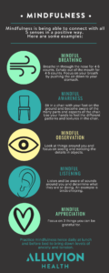 Tips to stay mindful